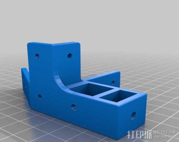 Mendel Max打印机连接棱柱 连接器  3D模型  图25