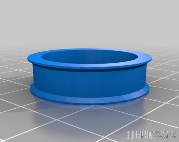 Mendel Max打印机连接棱柱 连接器  3D模型  图27