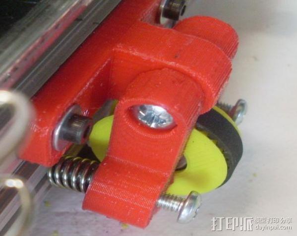 Mendel Max打印机连接棱柱 连接器  3D模型  图28