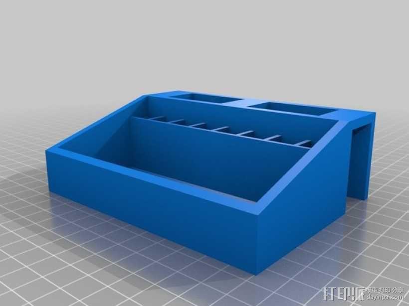 工具箱 工具盒 3D模型  图1