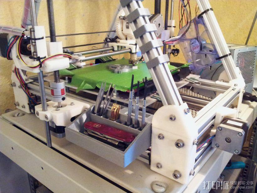 工具箱 工具盒 3D模型  图3
