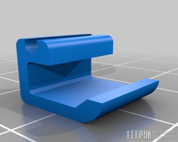 线材夹 3D模型  图3