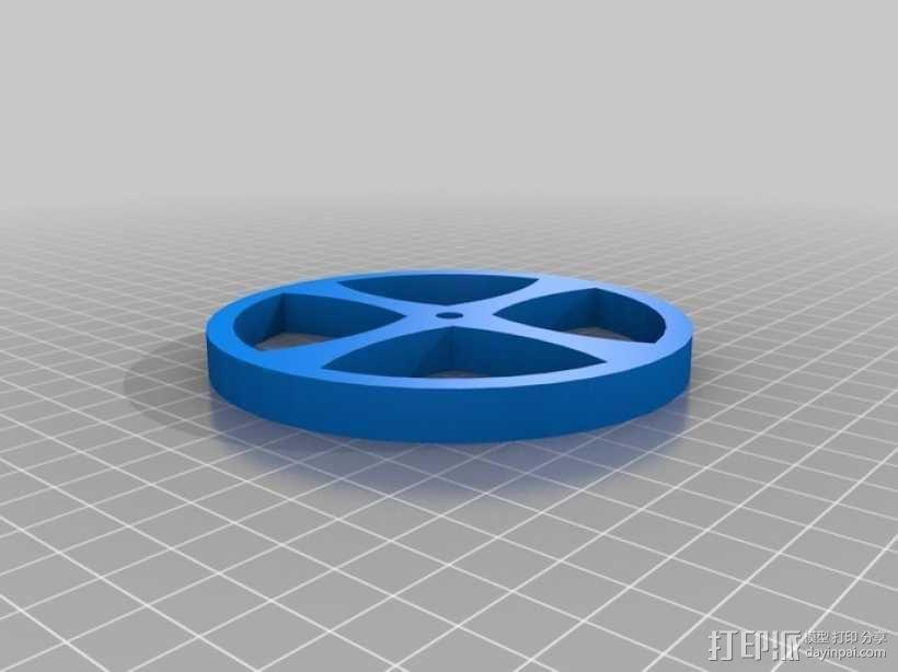 线材卷 线轴  3D模型  图6