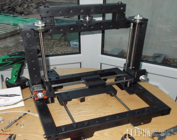 自制3D打印机 3D模型  图4