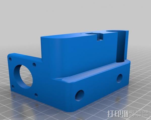 自制3D打印机 3D模型  图28