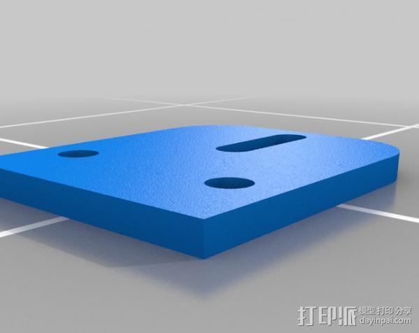 自制3D打印机 3D模型  图33