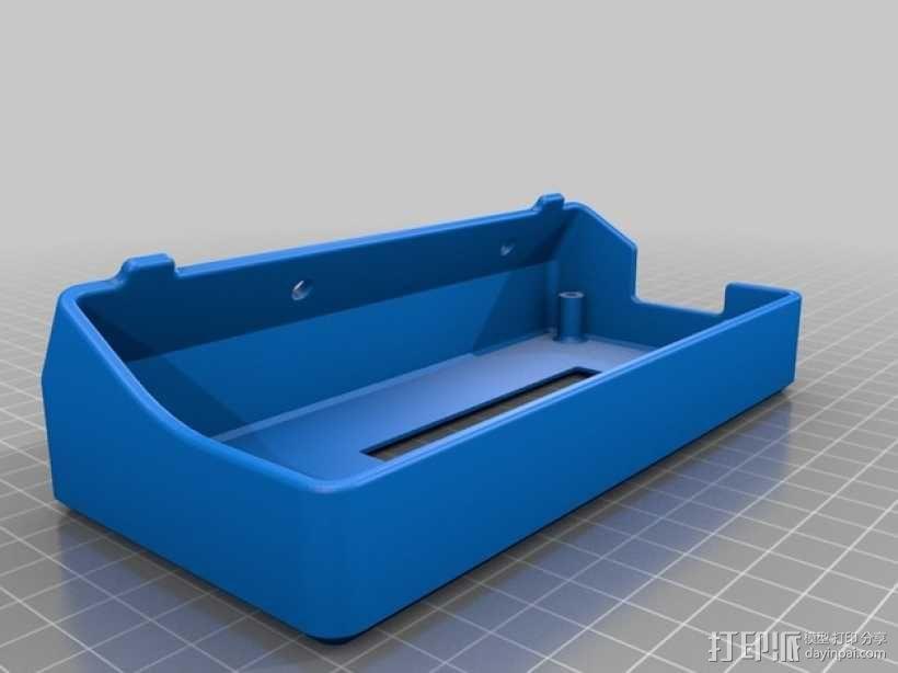 Delta仪表盘支架 3D模型  图1