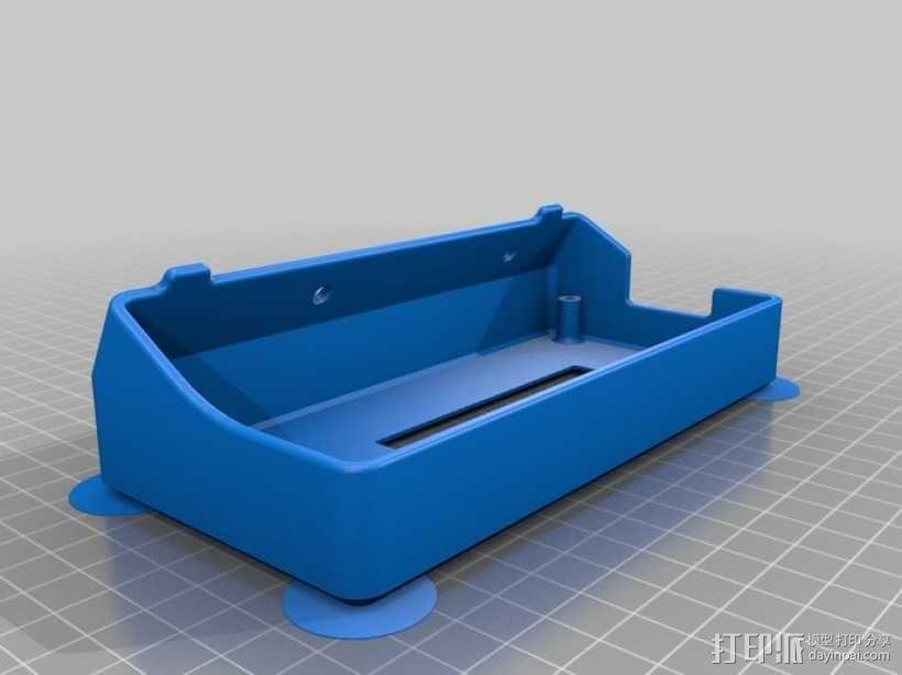 Delta仪表盘支架 3D模型  图3