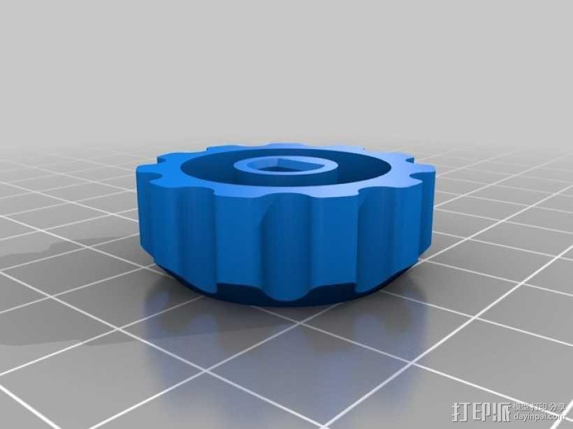 Delta仪表盘支架 3D模型  图2