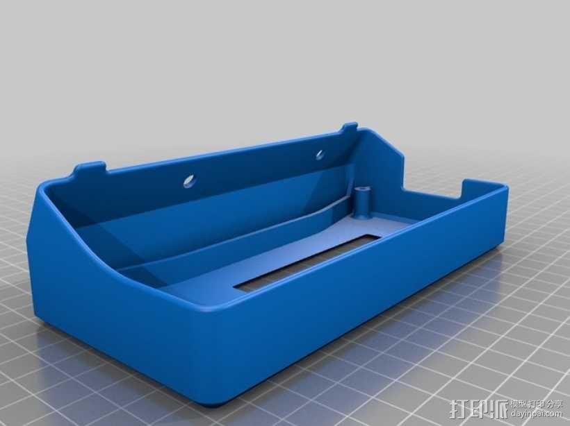 Delta仪表盘支架 3D模型  图5