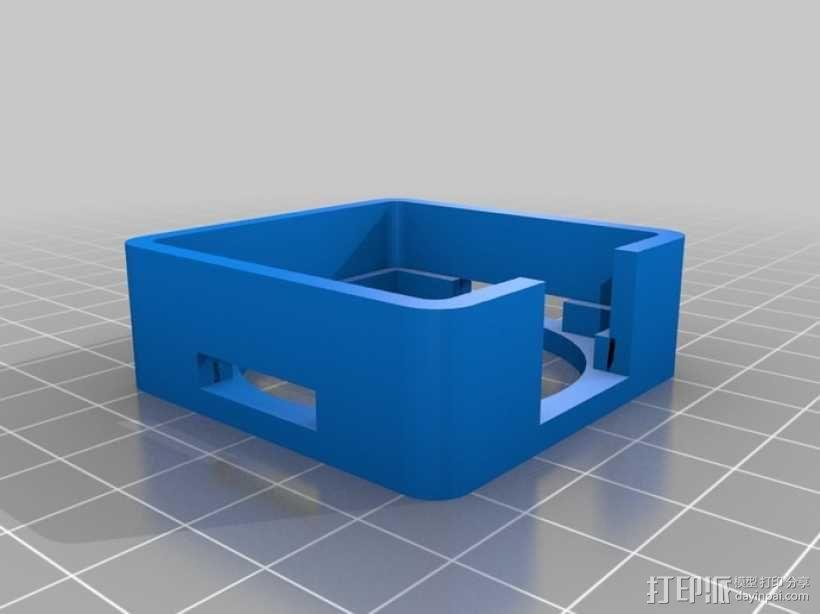 NEMA17 马达风扇 3D模型  图1
