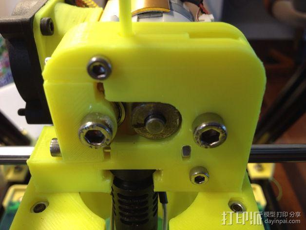 J-Head挤出机 3D模型  图3