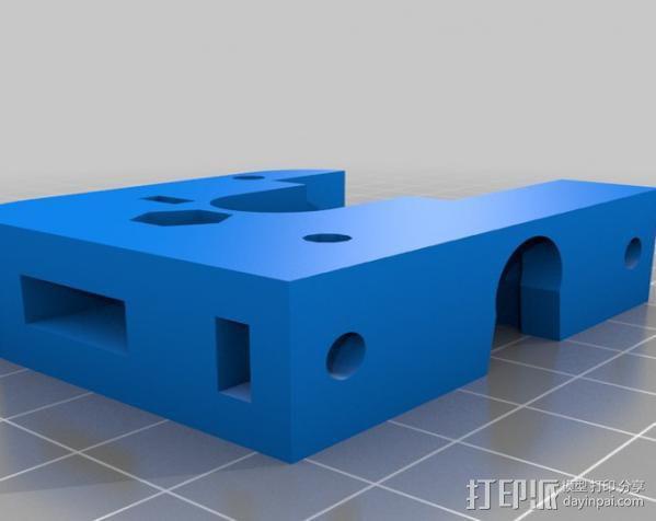 J-Head挤出机 3D模型  图1