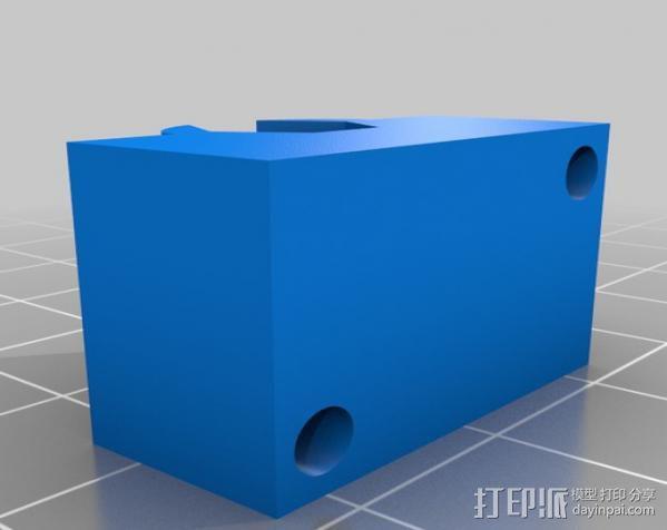 J-Head挤出机 3D模型  图2