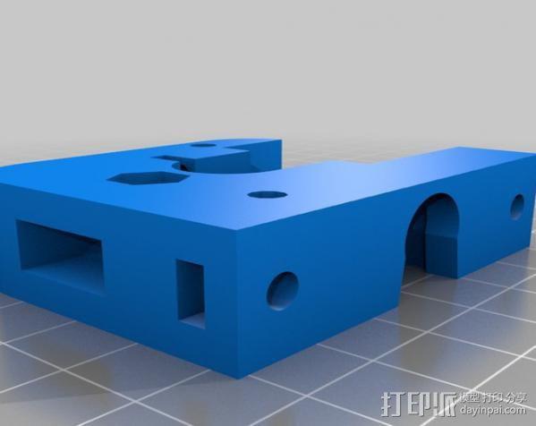 J-Head挤出机 3D模型  图4
