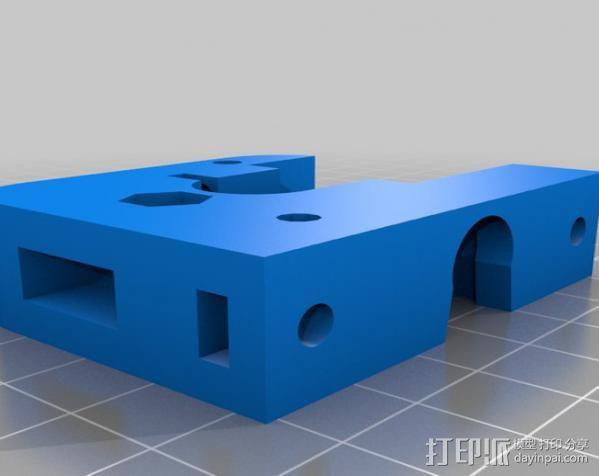 J-Head挤出机 3D模型  图6