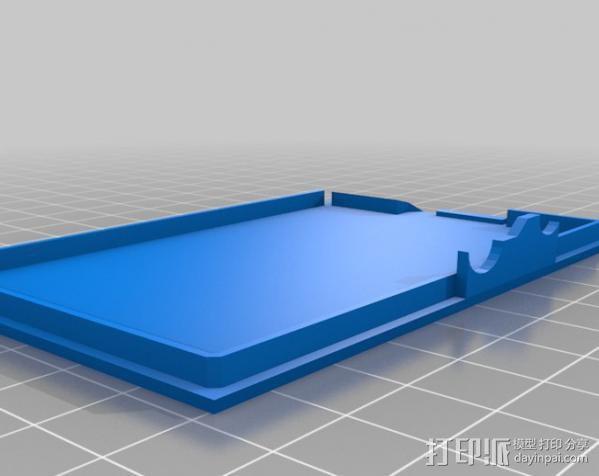 Raspberry Pi树莓派外盒 3D模型  图1