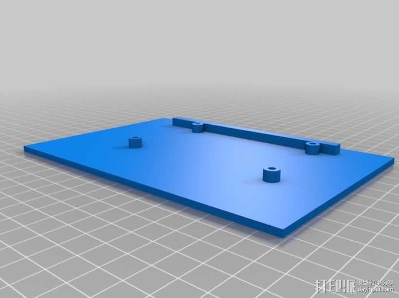ramps 1.4主板控制器外壳 3D模型  图4