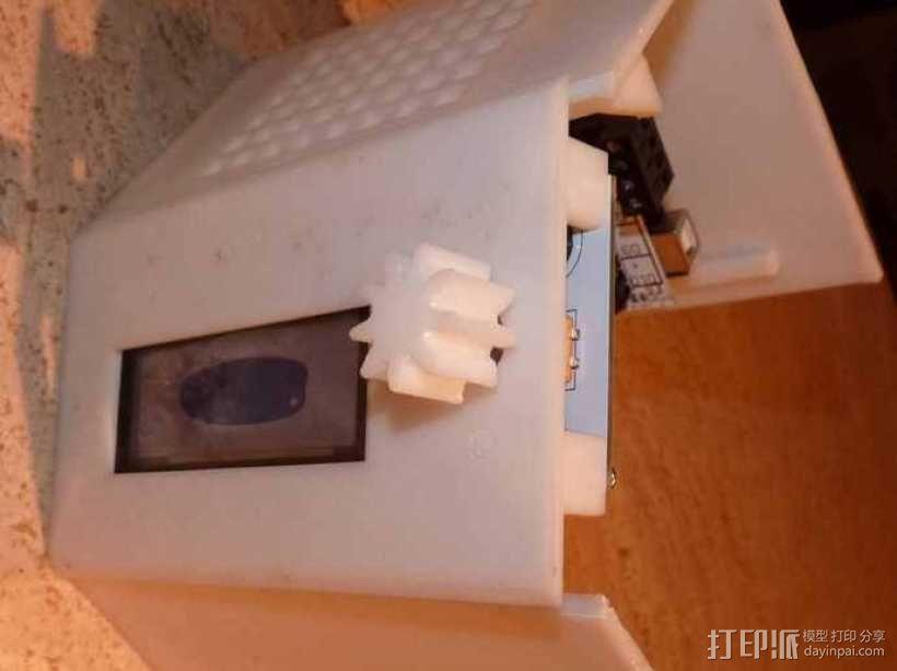 ramps 1.4主板控制器外壳 3D模型  图3
