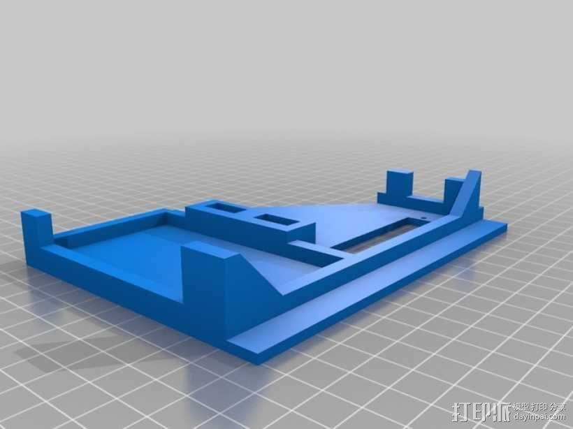 ramps 1.4主板控制器外壳 3D模型  图7