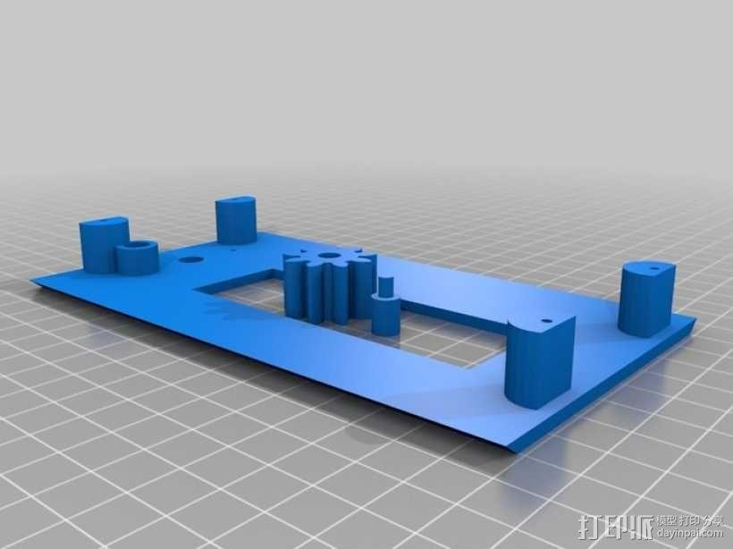 ramps 1.4主板控制器外壳 3D模型  图9