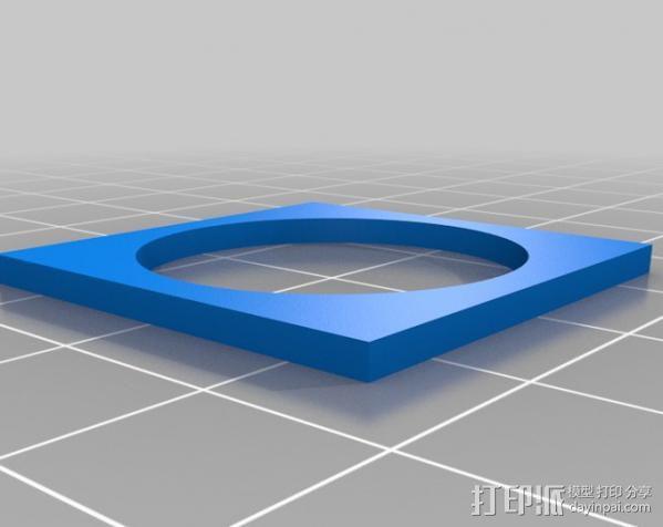 欧元硬币校准器 3D模型  图1