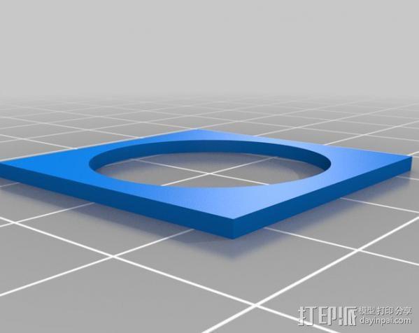 欧元硬币校准器 3D模型  图2