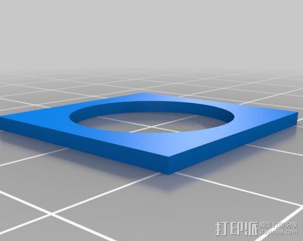 欧元硬币校准器 3D模型  图3