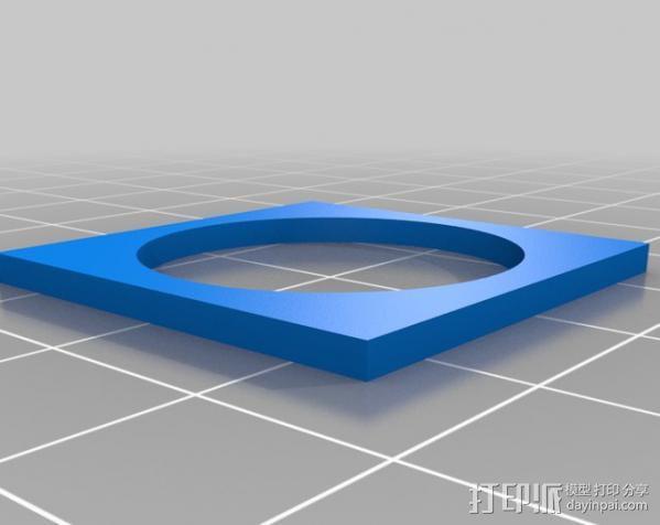 欧元硬币校准器 3D模型  图5