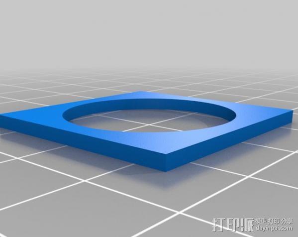 欧元硬币校准器 3D模型  图6