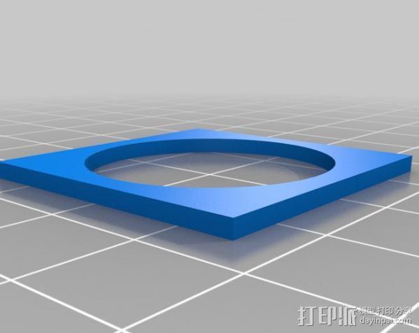 欧元硬币校准器 3D模型  图8