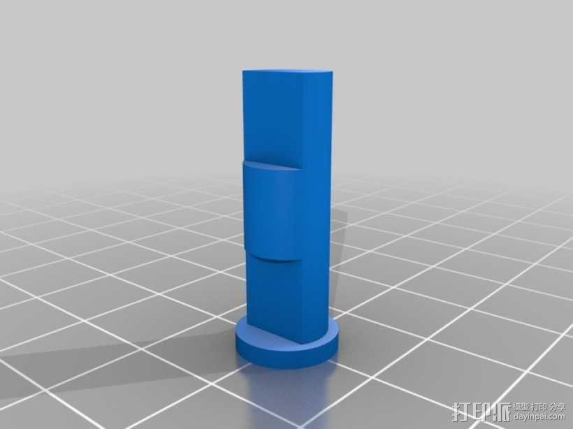 蜗杆传动器 3D模型  图1