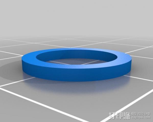 蜗杆传动器 3D模型  图2