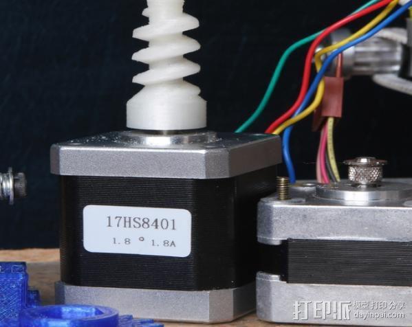 蜗杆传动器 3D模型  图10