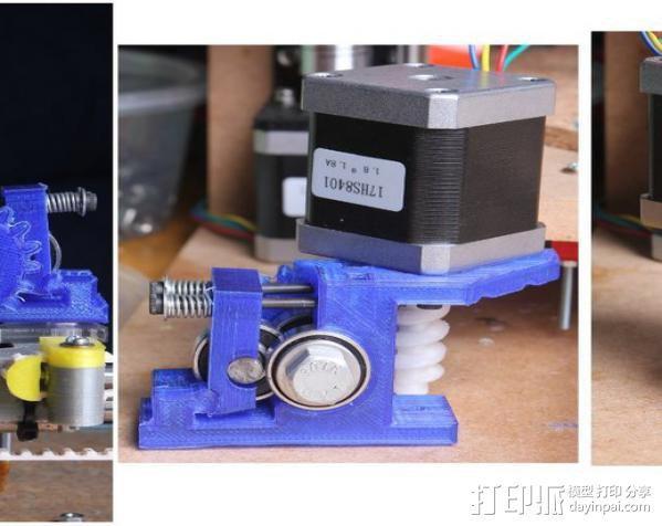 蜗杆传动器 3D模型  图7