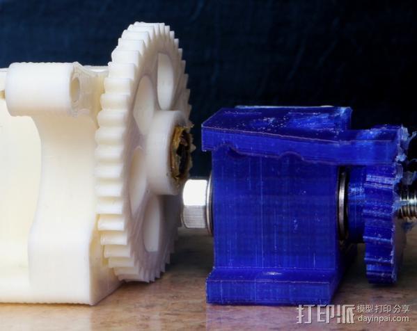 蜗杆传动器 3D模型  图9