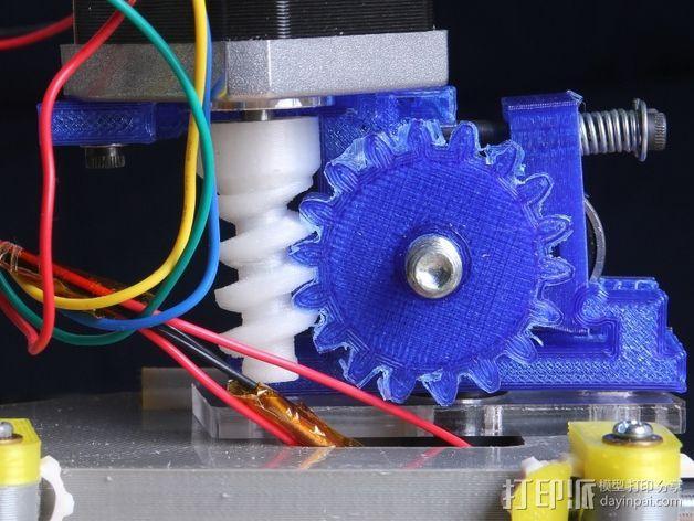 蜗杆传动器 3D模型  图8