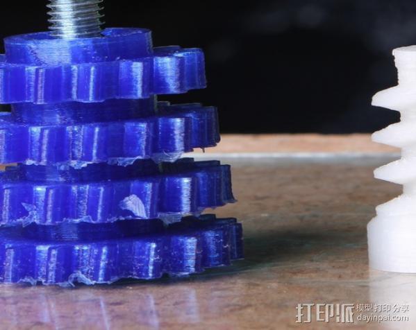 蜗杆传动器 3D模型  图11