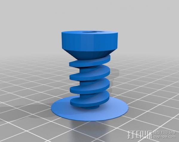 蜗杆传动器 3D模型  图12