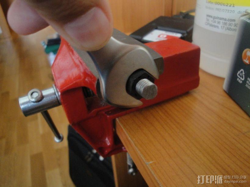 标准套件 M8六角螺母和垫片 3D模型  图7