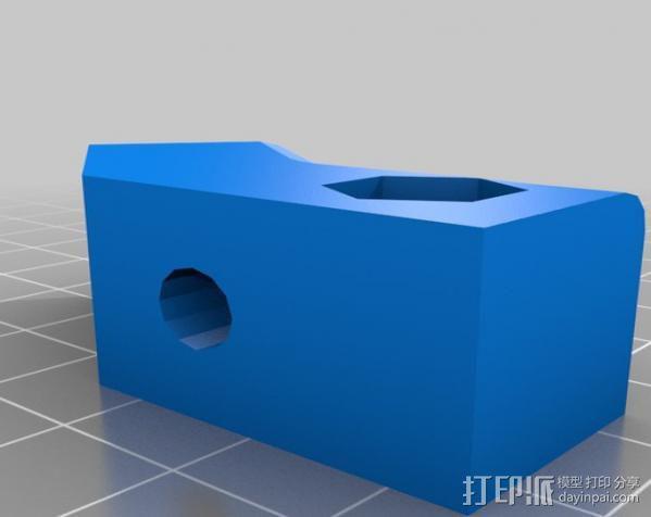 Makerbot Replicator打印机外罩 外框 3D模型  图3