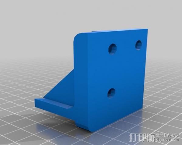 Makerbot Replicator打印机外罩 外框 3D模型  图5