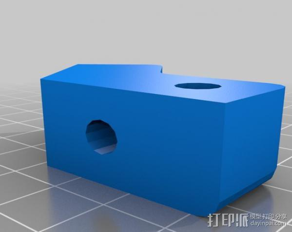 Makerbot Replicator打印机外罩 外框 3D模型  图4