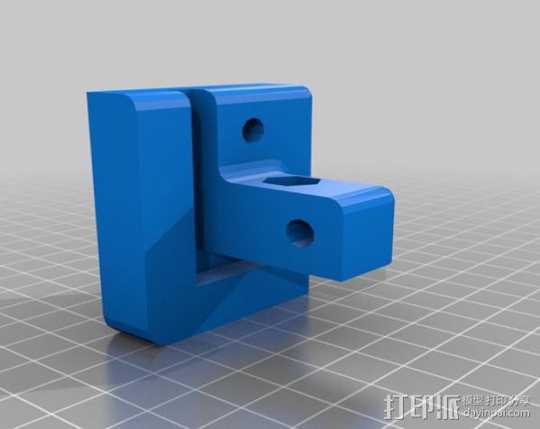 Makerbot Replicator打印机外罩 外框 3D模型  图6
