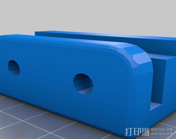 Makerbot Replicator打印机外罩 外框 3D模型  图7