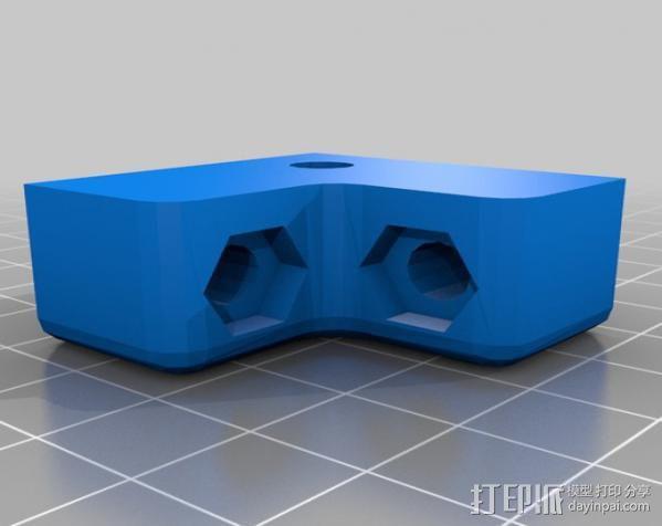Makerbot Replicator打印机外罩 外框 3D模型  图8