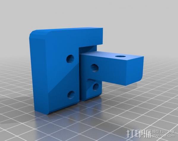 Makerbot Replicator打印机外罩 外框 3D模型  图9