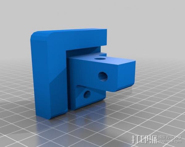 Makerbot Replicator打印机外罩 外框 3D模型  图10