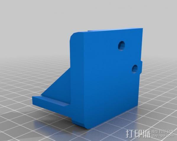 Makerbot Replicator打印机外罩 外框 3D模型  图12