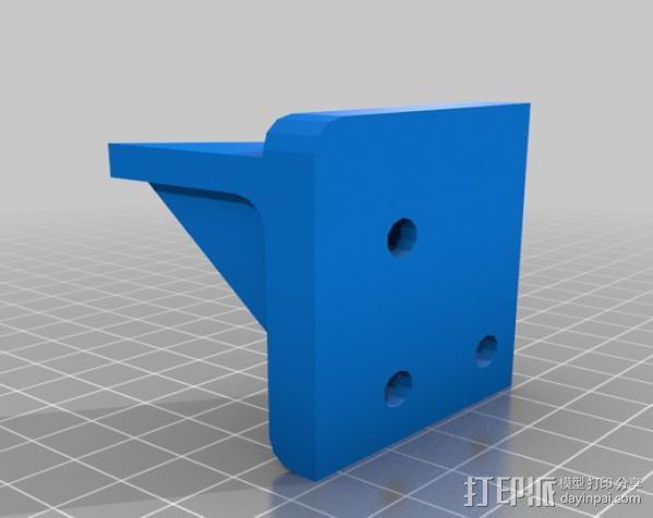 Makerbot Replicator打印机外罩 外框 3D模型  图11